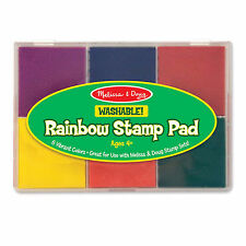 Melissa And Doug Washable Rainbow Stamp Pad NEW Toys Crafts