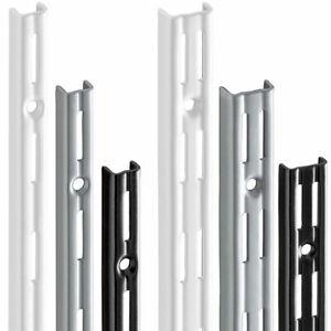 Wandschiene | Regalschiene | für Regalträger Regalböden Regalsystem | 11 Größen