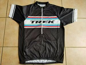 Maillot cyclisme original TREK Bontrager Noir  taille  L  XL