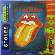 THE ROLLING STONES LIVE IN CHICAGO 2019 No Filter US Tour limited edition 2CD