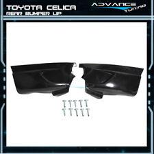 Fits Toyota Celica 00-05 Urethane PU Rear Bumper Lip Spoiler 2Pcs Set Bodykit