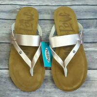 Mad Love Women's Rose Gold Regina Comfort Flip Flop Sandals Size 6 ~ New