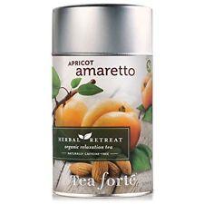 TEA FORTE APRICOT AMARETTO HERBAL TEA RETREAT ORGANIC LOOSE 3.17 OZ(90g) NEW