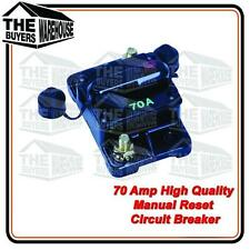 HIGH QUALITY 70 AMP WATERPROOF MANUAL RESET CIRCUIT BREAKER  NARVA COMPETITOR