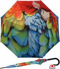 Doppler Regenschirm Damen Stockschirm groß strabil edel Automatik modern Art Ara
