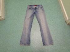 """Levi's 557 Eve Straight Jeans Waist 28"""" Leg 32"""" Faded Medium Blue Ladies Jeans"""
