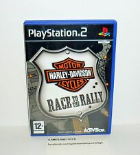 JEU PS2 COMPLET HARLEY DAVIDSON MOTOR CYCLES RACE TO THE RALLY