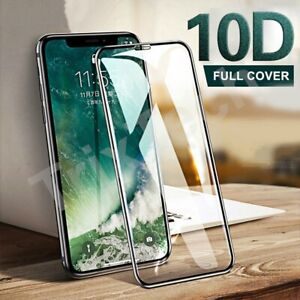 Full Screen Protector For iPhone 12 SE 2020 11 Pro Max XR CURVED Tempered Glass