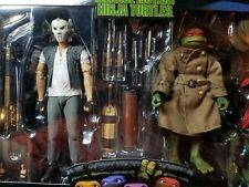 NECA TMNT Raphael Casey Jones 2 Pack Walmart Exclusive *IN HAND* Ready To Ship