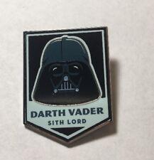 "Disney Star Wars Retro Mystery Set "" Darth Vader "" Pin"