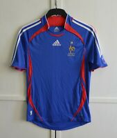 France National Team World Cup 2006/07 Home Football Shirt Jersey Adidas Size S