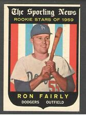 1959 Topps #125 Ron Fairly Sporting News Rookie Stars