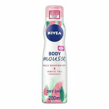 NIVEA Body Mousse Wild Raspberry & White Tea 200ml