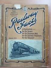 South Australian Government Railways Facts Adelaide 1929 Iss. by W A Webb