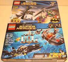 LEGO Batman 2 Brand New and Sealed Sets 6863 76027 Batwing Black Manta