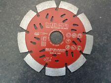 1 St Trennscheibe HILTI EQD SPX 125 beton Schlitzfräse Ziegel Diamant #2117959