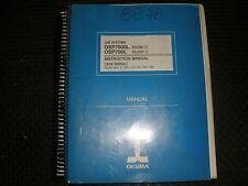 Okuma Cnc Osp7000M & 700M U Control Instruction Manual
