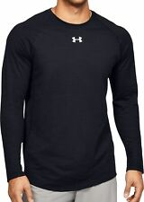 Under Armour Charged Cotton Long Sleeve Mens Training Top - Black