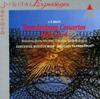 Bach Brandenburgische Konzerte Nr. 1, 2, 4 (Teldec, 1981) [CD]