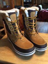 NEW Helly Hansen Men's Garibaldi Boots - Whiskey/Espresso/Sperry - Size: 9