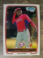 2012 Bowman Chrome Prospects #BCP112A Maikel Franco