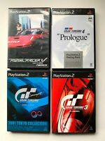Lot4 PlayStasion2 GRAN TURISMO SONY Racing game set from JAPAN NTSC-J (Japan)