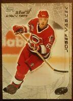 2000-01 Topps Stars JOSEF VASICEK Carolina Hurricanes NHL Card #114 RC Rookie