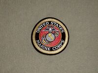Rothco Marine Corps USMC DOD seal color embroidered 3 inch round jacket patch