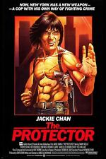 JACKIE CHAN THE PROTECTOR '85 movie poster KUNG FU NEW YORK collectors 24X36