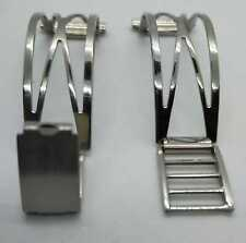 RARISSIMO CINTURINO VINTAGE A FILO mm20 CHIUSURA GP INOX 18/8 MILLERIGHE mm11