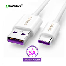 Cable USB 3.1 a USB-C carga ultra rapida 5A UGREEN Huawei Mate10 P10 P20 Honor
