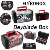 8 in 1 Carrying Case Portable Waterproof Box For Beyblade Burst Spinning Top