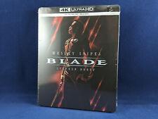 BLADE Steelbook 4K Bluray Wesley Snipes Vampires Marvel VF Stephen Dorff NEUF