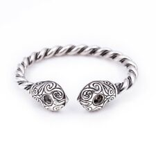 Celtic Armring / Bracelet Silver-plated Bronze Universal Size 18cm-21cm Wrist