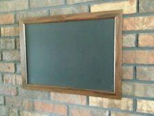 "Hard Wood framed chalkboard Walnut finish 14x24""  FREE Shipping!!!"