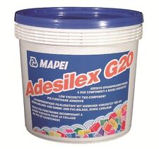 Mapei Adesilex G20 Two Coponent adhesive for rubber and linoleum floors 5Kg Tubs