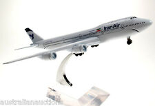 IRAN AIR  AIRLINES  DIECAST AIRCRAFT PLANE MODEL B747-400 1:400  #9