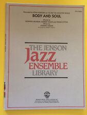 Body And Soul, Johnny Green, Stan Kenton, arr. Marty Paich, Big Band Arrangement