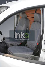 Peugeot Bipper de carga frontal Inka Tailored Fundas impermeables RHD 08-16 Gris