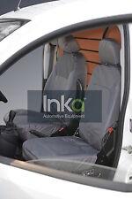 Peugeot Bipper Cargo Front Inka Tailored Waterproof Seat Covers RHD 08-16 Grey