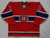 MONTREAL CANADIENS Gaston Gingras #30 GAME WORN ccm maska AHL JERSEY SIZE 56