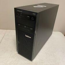 Lenovo ThinkServer TS430 Tower Server, 1x E3-1220V2 3.1GHz Quad Core 4GB NO HDD