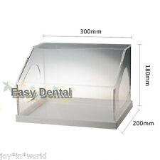 Dental Grinding Polishing Box Case Lapping Protector Acrylic Instrument