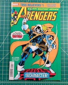 True Believers The Avengers #196 NM+ 1st Appearance of Task Master Reprint!