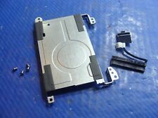 "HP Pavilion 14"" 14-c050nr Genuine HDD Hard Drive Caddy w/ Connector Screws GLP*"