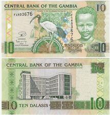 Gambia 10 Dalasis 2013 P-26a.3 NEUF UNC Uncirculated Banknote