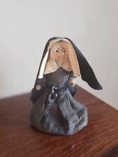 Vintage Nun Bell Catholic Habit Rosary France