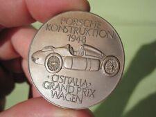 PORSCHE GRAN PRIX CISITALIA 1948 COIN 356 CALENDER 911 550 VW BEETLE 1972 904 VW