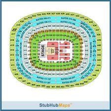2 Coldplay Tickets 08/06/17 FedEx Field (Landover) Sec 121