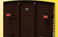 VIESSMANN HO 5069 2 lanternes de fermeture TRAIN TRAIN Feux arrière